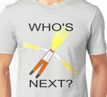 Whos Next? Dr Who Regeneration Unisex T-Shirt