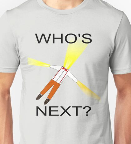 Whos Next? Dr Who Regeneration Unisex T-Shirt