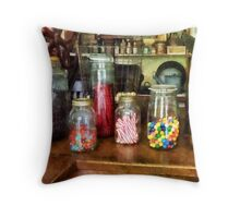 Penny Candies Throw Pillow