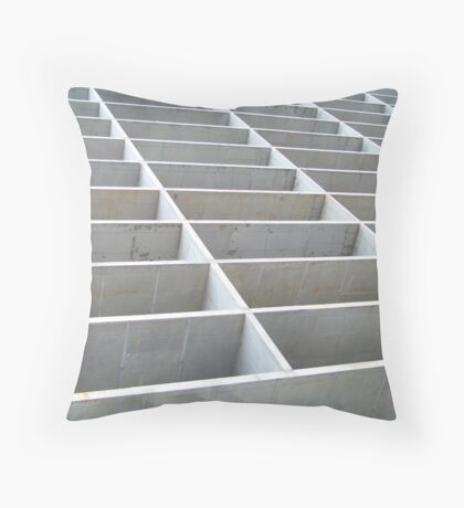 Construction site Throw Pillow