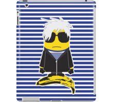 Warhol minion iPad Case/Skin