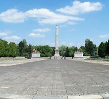 Cemetery the mausoleum Zolnierzy of the Soviet by AnnoNiem Anno1973
