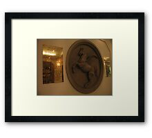 Flying Horse Walk Framed Print
