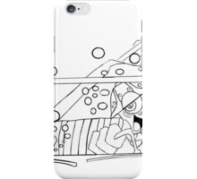 fear and loathing in bode land- clear iPhone Case/Skin