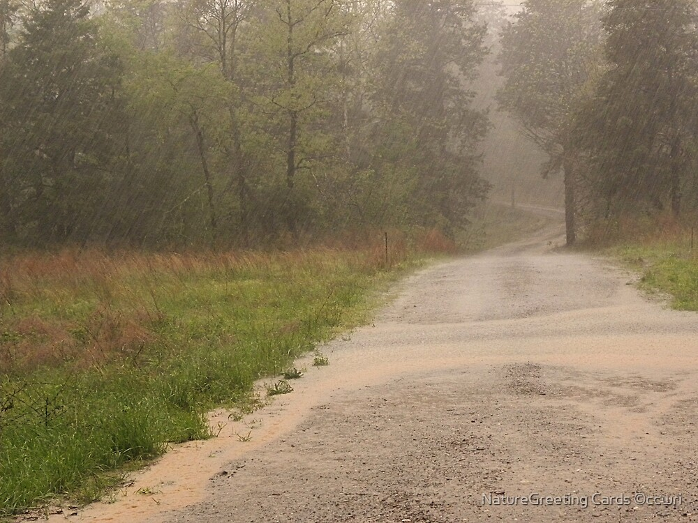 Ozark Country Rain by NatureGreeting Cards ©ccwri