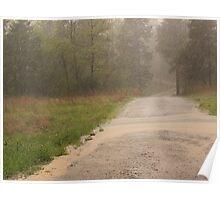 Ozark Country Rain Poster
