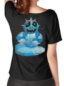 Glass & Steel Monster Tee Women's Relaxed Fit T-Shirt