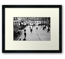 To be on time Framed Print