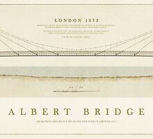 Albert Bridge London by Old-Lundenwic