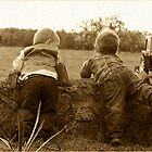 Farm boys by LisaRoberts