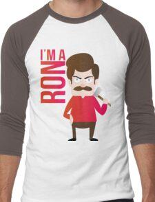 im a RON Men's Baseball ¾ T-Shirt