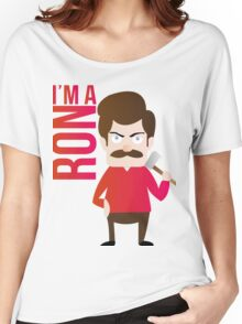im a RON Women's Relaxed Fit T-Shirt