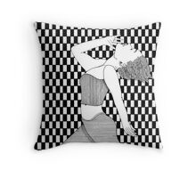 156 - AEROBICS - DAVE EDWARDS - INK - 1988 Throw Pillow