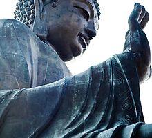 Big Buddha, Hong Kong by Andrea Bell