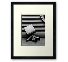 Sackbot Framed Print