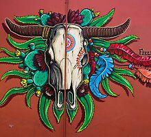 Santa Fe Skull by fieldey