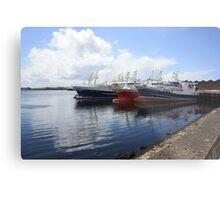 Big Atlantic fishing boat Killybegs Donegal Metal Print