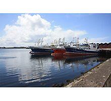 Big Atlantic fishing boat Killybegs Donegal Photographic Print