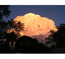 Cloud Formation in Laidley Australia Photographic Print