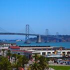 Bay Bridge AT&T Park by kevmarcn