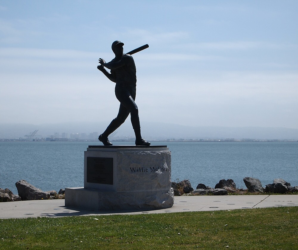 Willie McCovey Statue by kevmarcn