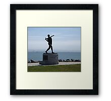 Willie McCovey Statue Framed Print