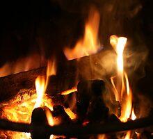 Roaring Fire by DaveScoffin