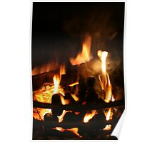 Roaring Fire Poster