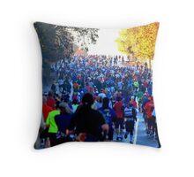 California International Marathon Throw Pillow