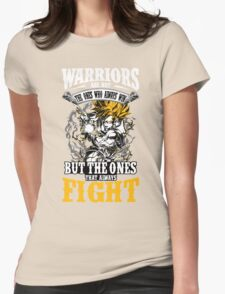 WARRIOR PRIDE Womens Fitted T-Shirt