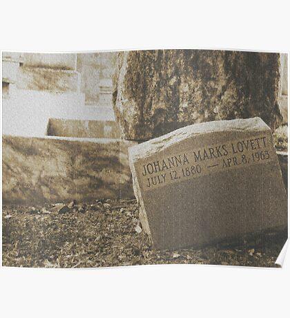 Johanna Tomb Poster