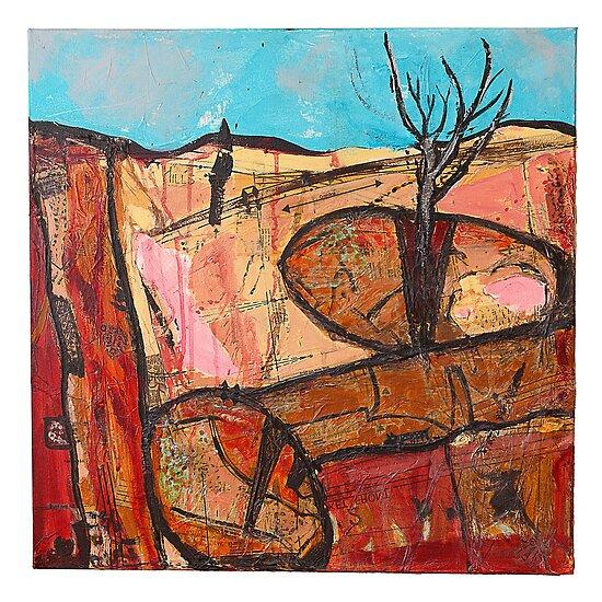 tree in the rock by HelenAmyes