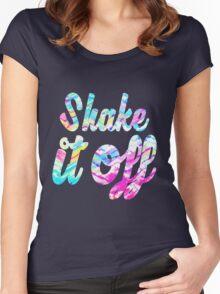 Shake it Off (Tie dye) Women's Fitted Scoop T-Shirt