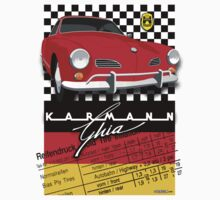 VW Karmann Ghia illustration T-Shirt