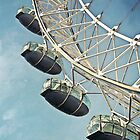 Morning Flight - London Eye by Sherie LaPrade