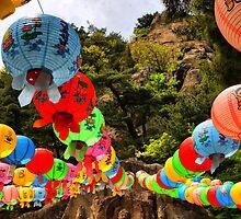 Namsan Shrine by Barbara  Brown