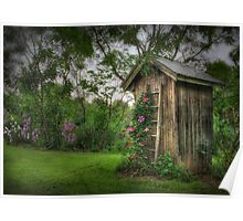 Fragrant Outhouse Poster