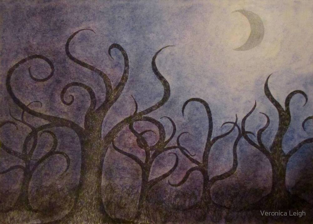 Prelude to A Midnight Forest by Veronica Schultz