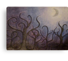 Prelude to A Midnight Forest Canvas Print