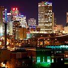 Edmonton Skyline by Mark Iocchelli