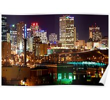 Edmonton Skyline Poster