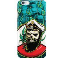 Davy Jones - Turquoise iPhone Case/Skin
