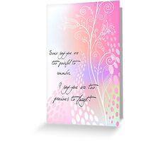 Too Precious to Forget Greeting Card