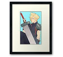 Cloud Strife - Final Fantasy VII Framed Print