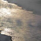 Winter on the North Saskatchewan by Mark Iocchelli