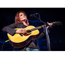 Roseanne Cash at Union Chapel, London - 23rd July 2015 Photographic Print