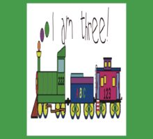 CartoonToy Train Tshirt For Three Year Old Kids Clothes