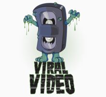 Viral Video (Green version) Kids Tee