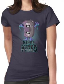 Viral Video (Blu version) Womens Fitted T-Shirt