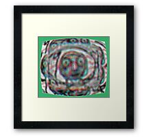 The Television Is Watching You Framed Print